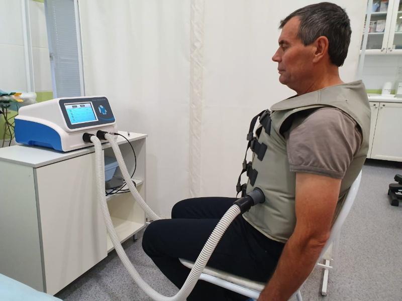 Жилет Вест — метод высокочастотной осцилляции грудной стенки в лечении бронхо-легочных заболеваний